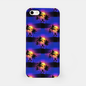 Tropical Island Sunset iPhone Case thumbnail image