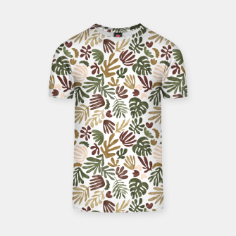 Thumbnail image of Matisse abstract jungle Camiseta, Live Heroes