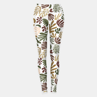 Thumbnail image of Matisse abstract jungle Leggings, Live Heroes