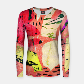 Thumbnail image of Thinking Women sweater, Live Heroes