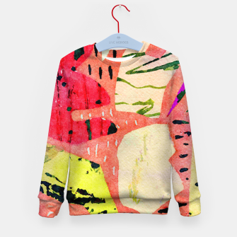 Thumbnail image of Thinking Kid's sweater, Live Heroes