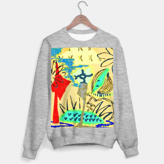 Thumbnail image of Peace in the Soul Sweater regular, Live Heroes