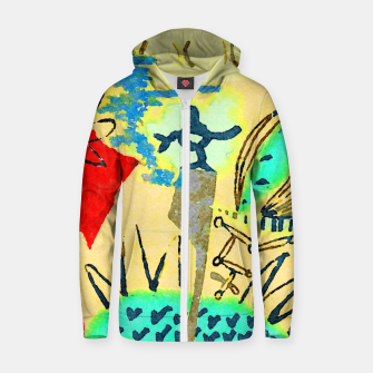 Thumbnail image of Peace in the Soul Zip up hoodie, Live Heroes