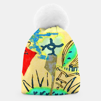 Thumbnail image of Peace in the Soul Beanie, Live Heroes