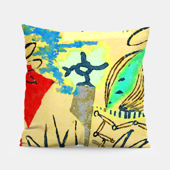 Thumbnail image of Peace in the Soul Pillow, Live Heroes