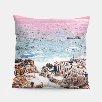 Thumbnail image of Beach Day II Pillow, Live Heroes