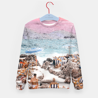 Thumbnail image of Beach Day II Kid's sweater, Live Heroes