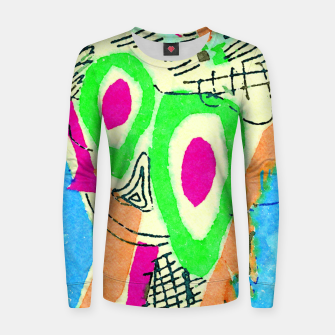 Thumbnail image of Clown Women sweater, Live Heroes