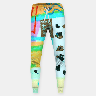 Thumbnail image of Travel Mug Sweatpants, Live Heroes