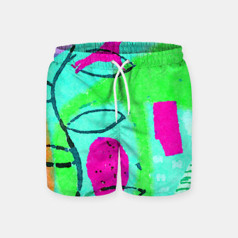 Thumbnail image of Live Only Once Swim Shorts, Live Heroes