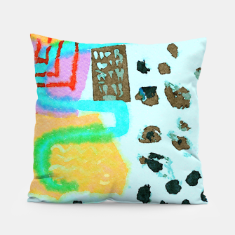 Thumbnail image of Travel Mug Pillow, Live Heroes