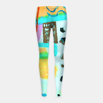 Thumbnail image of Travel Mug Girl's leggings, Live Heroes