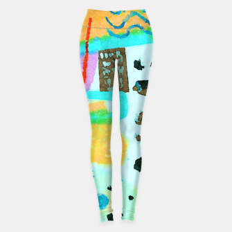Thumbnail image of Travel Mug Leggings, Live Heroes
