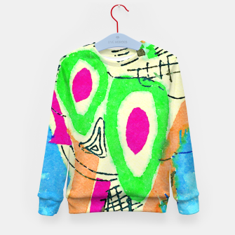 Thumbnail image of Clown Kid's sweater, Live Heroes
