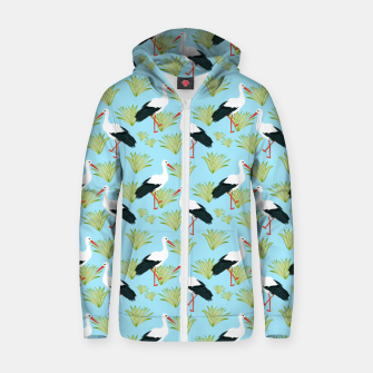 Thumbnail image of Storks Zip up hoodie, Live Heroes