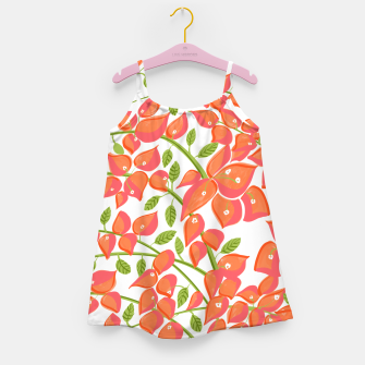 Miniaturka Bougainvillea Blush Girl's dress, Live Heroes