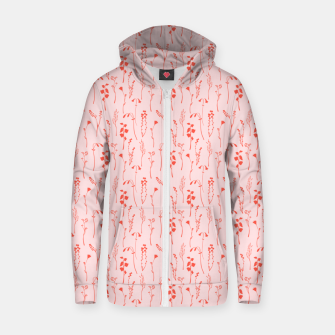 Miniaturka Botanical Blush Zip up hoodie, Live Heroes