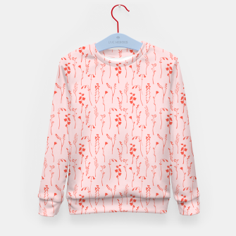 Miniaturka Botanical Blush Kid's sweater, Live Heroes