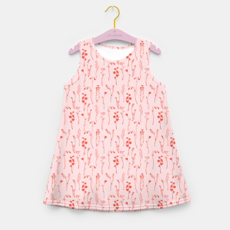 Miniaturka Botanical Blush Girl's summer dress, Live Heroes