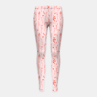 Miniaturka Botanical Blush Girl's leggings, Live Heroes