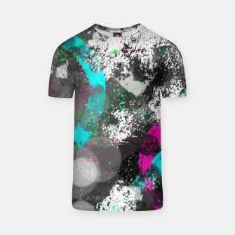 Miniatur abstract circles T-Shirt, Live Heroes