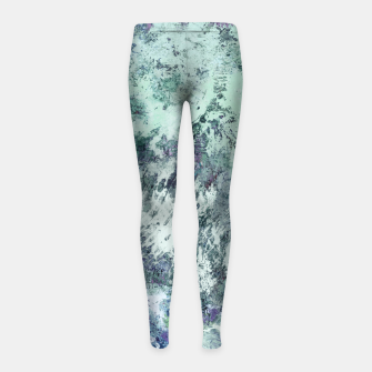 Thumbnail image of The storm gate Girl's leggings, Live Heroes