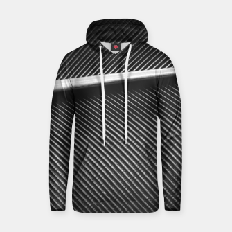 Elegant silver pigeon feather texture lines Hoodie thumbnail image