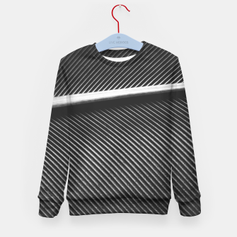 Thumbnail image of Elegant silver pigeon feather texture lines Kid's sweater, Live Heroes