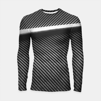 Thumbnail image of Elegant silver pigeon feather texture lines Longsleeve rashguard , Live Heroes
