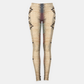 Thumbnail image of African Moroccan Traditional Style Artwork Leggings, Live Heroes