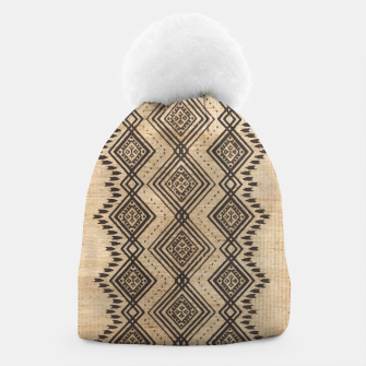 Thumbnail image of African Moroccan Traditional Style Artwork Beanie, Live Heroes