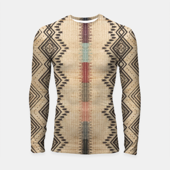 Thumbnail image of African Moroccan Traditional Style Artwork Longsleeve rashguard , Live Heroes