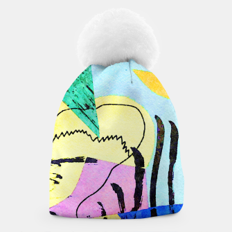 Thumbnail image of Bored Bird Beanie, Live Heroes