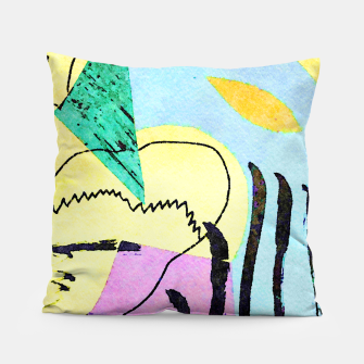 Thumbnail image of Bored Bird Pillow, Live Heroes