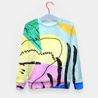 Thumbnail image of Bored Bird Kid's sweater, Live Heroes