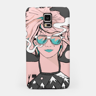 Thumbnail image of Summer chilling Samsung Case, Live Heroes
