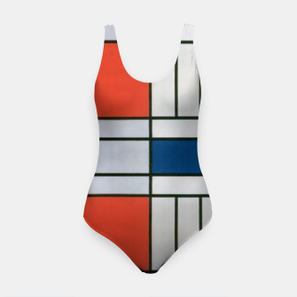 Thumbnail image of Colorful Retro Geometric Pattern Swimsuit, Live Heroes
