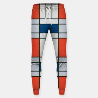 Thumbnail image of Colorful Retro Geometric Pattern Sweatpants, Live Heroes