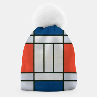 Thumbnail image of Colorful Retro Geometric Pattern Beanie, Live Heroes