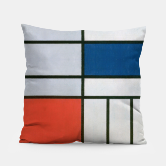 Thumbnail image of Colorful Retro Geometric Pattern Pillow, Live Heroes