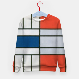 Thumbnail image of Colorful Retro Geometric Pattern Kid's sweater, Live Heroes