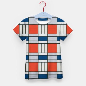 Thumbnail image of Colorful Retro Geometric Pattern Kid's t-shirt, Live Heroes