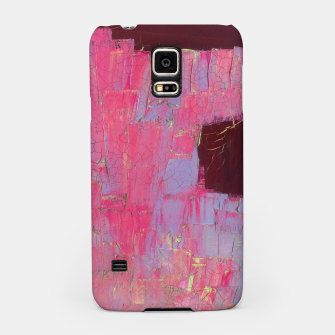 Miniatur Pink painting  Samsung Case, Live Heroes