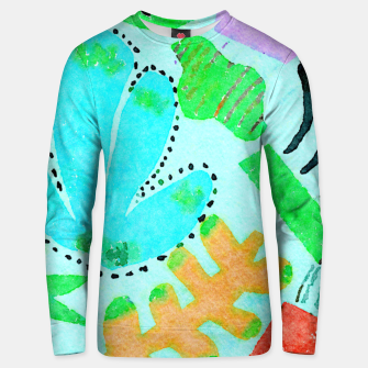 Thumbnail image of Happy Leaf Unisex sweater, Live Heroes