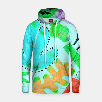 Thumbnail image of Happy Leaf Hoodie, Live Heroes