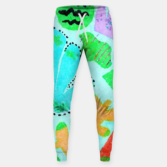 Thumbnail image of Happy Leaf Sweatpants, Live Heroes