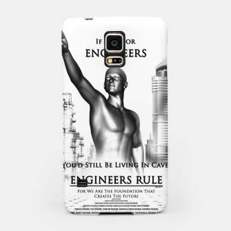 Thumbnail image of Engineers Rule Graphic Design Samsung Case, Live Heroes
