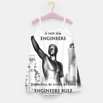 Thumbnail image of Engineers Rule Graphic Design Girl's dress, Live Heroes