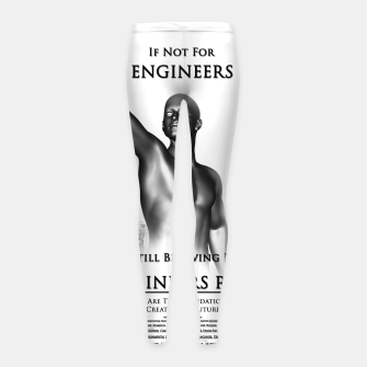 Thumbnail image of Engineers Rule Graphic Design Girl's leggings, Live Heroes