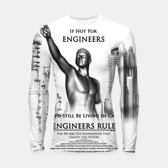 Thumbnail image of Engineers Rule Graphic Design Longsleeve rashguard , Live Heroes